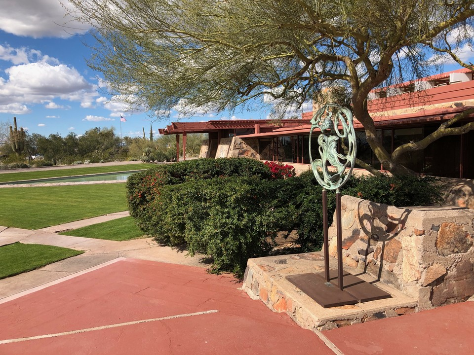 The School Of Architecture at Taliesin West;